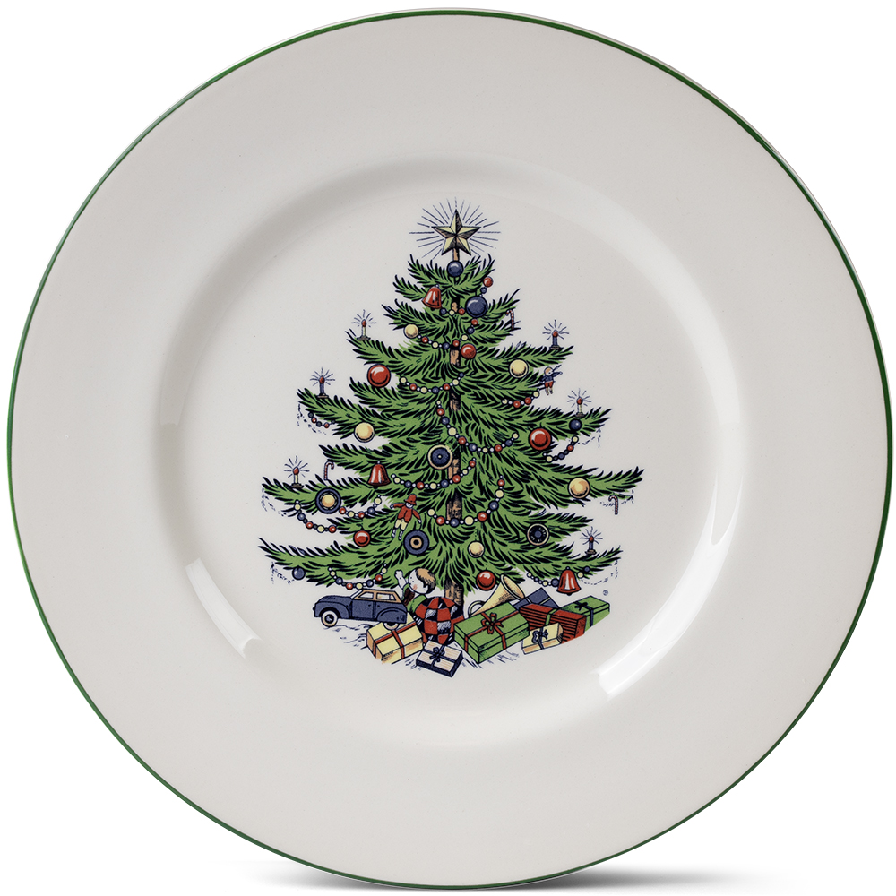 sc 1 st  Winterfield Gifts & Original Christmas Tree Dinnerware Pattern by Cuthbertson